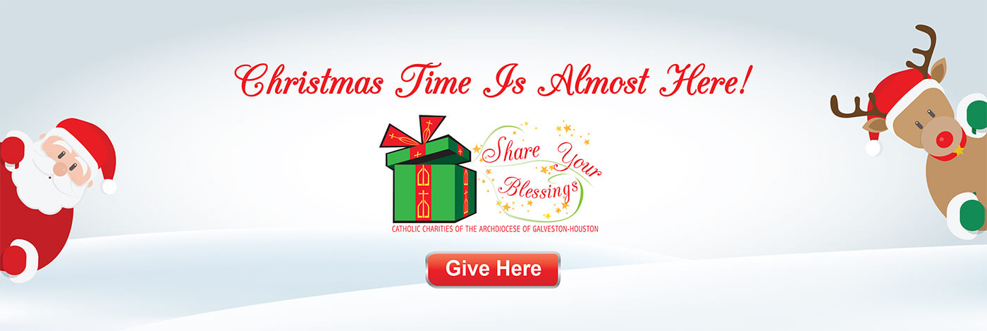 Share Your Blessings Christmas campaign
